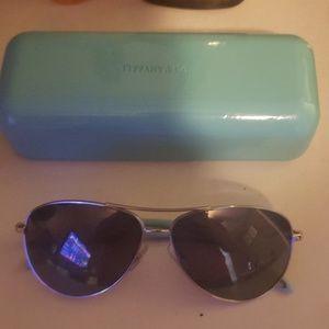 Tiffany and co aviator sunglasses